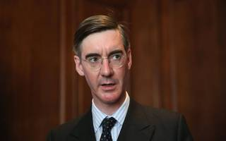 happy monday: jacob rees-mogg is now on twitter
