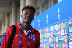 former bristol city star tammy abraham stuns with his singing talent as part of swansea city initiation