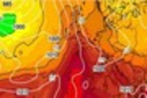 spanish plume is set to bring a heatwave to cornwall this week