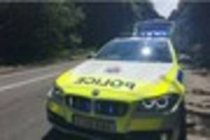 A24 closed for hours after two-car crash in Capel leaves three...