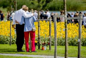 Emotional Ceremony Marks Three Years Since MH17 Was Shot Down Over Ukraine