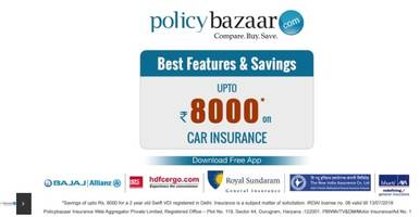 policybazaar.com launches a new campaign for car insurance