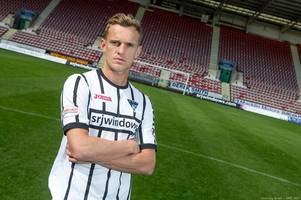 former rangers and hibs striker dean shiels seals return to scottish football with dunfermline