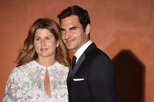 roger federer and garbine muguruza celebrate wimbledon 2017 triumphs at glitzy champions' dinner