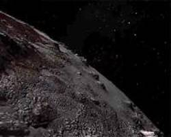 new horizons video soars over pluto's majestic mountains and icy plains