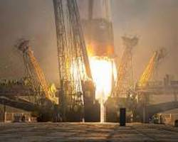 We Have Liftoff: Soyuz Carrier Rocket Blasts Off From Baikonur