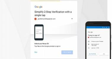 Google Wants to Simplify Its 2-Step Verification Process By Using Phone Prompts