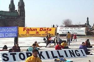 Canada-Wide Rallies Mark Launch of Falun Gong Persecution 18 Years Ago