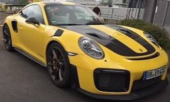 2018 porsche 911 gt3 in racing yellow has more sting than transformers bumblebee