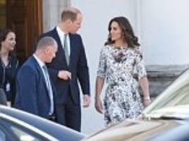 kate and william go to gdansk on day two of polish tour