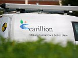 Carillion shareholders revolt over ex-finance boss