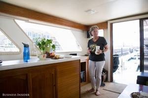 San Francisco is so expensive, this couple decided to live on a boat — here's what it's like 10 years later