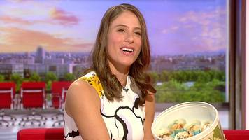 johanna konta served up muffins on breakfast - eventually