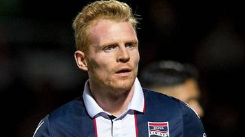 kilmarnock: chris burke joins rugby park side on one-year deal