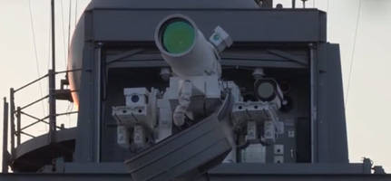 Navy Unveils World's First Active Laser Weapon In Persian Gulf
