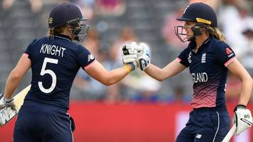 england reach women's world cup final after beating south africa in thriller