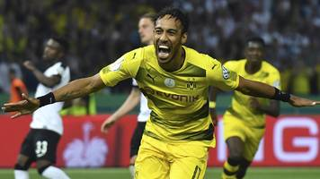 pierre-emerick aubameyang: borussia dortmund rule out sale of striker