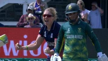 england v south africa: two quick-fire wickets boost england in knight's manic first over