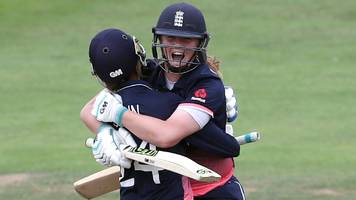women's world cup: heather knight relishes england's progress to lord's final
