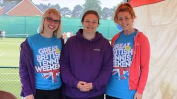 great british tennis weekend: get out on the court - for free!