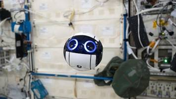 Lovable Japanese Camera Drone Joins ISS Crew