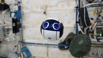This Cute New Space Drone May Take Over Some Astronaut Duties