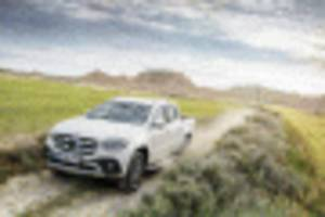 Mercedes-Benz shows production version of X-Class pickup truck–still not for US