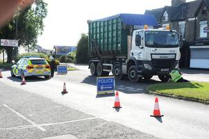 shock as cyclist dies in hessle road, hull, where residents say 'near misses with lorries happen every day'