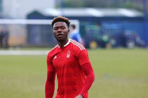 nottingham forest winger gboly ariyibi hoping to benefit from game time on loan at mk dons