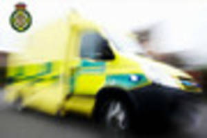 Man taken to hospital after two-car smash in Leek