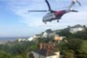 coverack flash flooding forces residents from their homes and...
