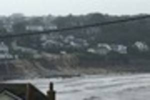 Flash flooding hits Coverack - with fire crews scrambled and...
