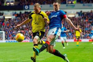 rangers skipper lee wallace can recover his best form if he loses the armband to bruno alves says jim jefferies
