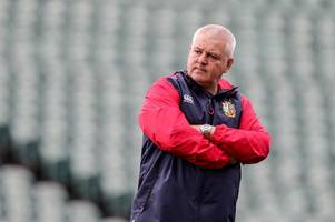 scotland star defends lions boss warren gatland's decision to initially select just two of his team-mates