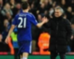 man utd and inter target matic left out of chelsea tour squad