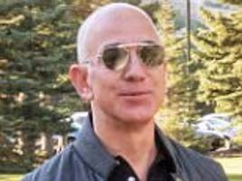 Amazon chief Jeff Bezos unveils £75bn macho makeover