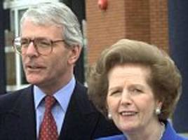 john major tried to charm margaret thatcher with letter