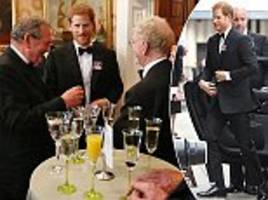 Prince Harry looks dapper at Falklands charity dinner