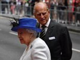 Queen and Prince Philip visit Canada House