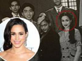 unseen photos of meghan markle as a budding actress