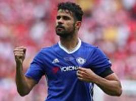 Atletico Madrid president plays down Diego Costa rumours