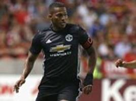 Man United defender Antonio Valencia apologises for tackle