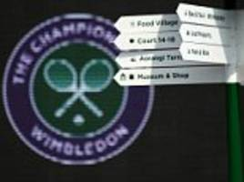 Wimbledon matches investigated for potential match-fixing