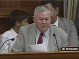 us congressman stuns a nasa panel with question on aliens