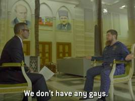 anti-gay threats, geiger counters, and insecurities about john oliver: hbo's journey to interview ramzan kadyrov