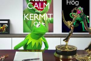 colbert airs kermit the frog's ugly contract negotiations: 'do i look like a b—-?' (video)