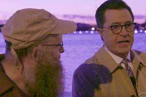 Stephen Colbert Asks Ordinary Russians if They Hacked Our Election (Video)