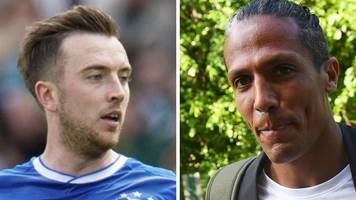 rangers' fit-again danny wilson ready to battle newcomers for starting place