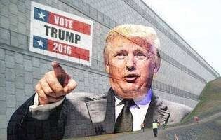 dhs engineers begin work on trump's physically imposing yet aesthetically pleasing border wall