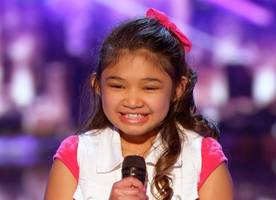'america's got talent': 9-old-year singer with powerful voice earns chris hardwick's golden buzzer